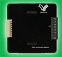 Picture of 8-Pin Screw Terminal Board - 35mm DIN/Bolt Mount