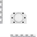 Picture of Ball Nut Housing Bracket DSG25H for SFU25XX
