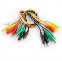 Picture of Alligator Test Leads - Multicolored 10 Pack